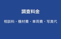 調査料金(相談料・機材費・車両費・写真代・調査経費・報告書作成費)